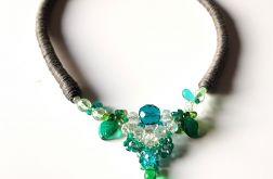 Naszyjnik korale szklane, Jablonex Lucia