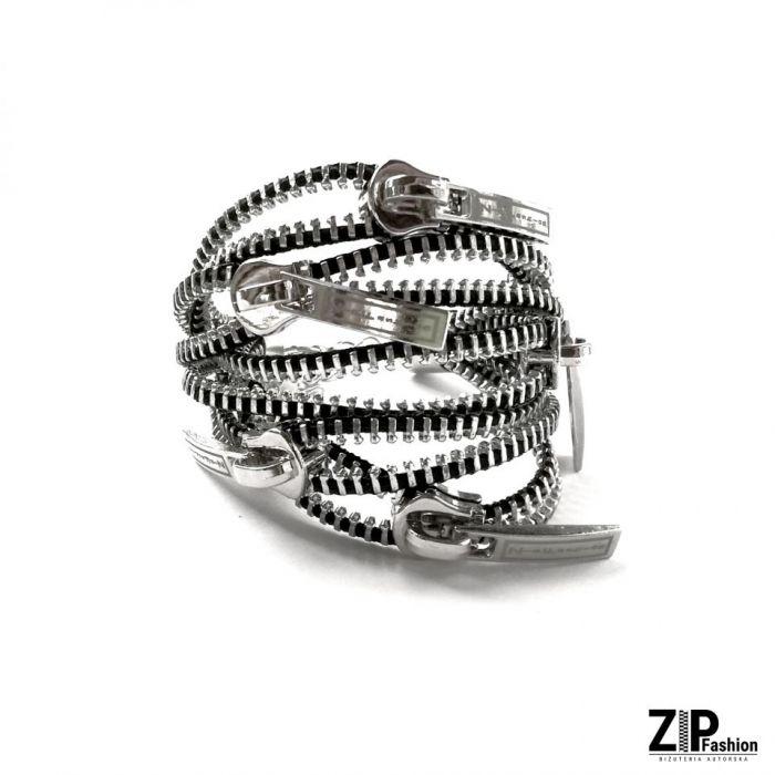 Designerski bogaty zestaw biżuterii