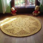 Dywan Słoneczko, 105 cm - dywan okrągły