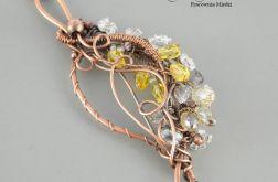 Spring romance - naszyjnik z wisiorem