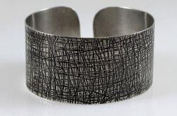Metalowa bransoleta - kora 171029-03