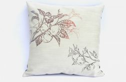 Poszewka na poduszkę - jesienne jabłonie