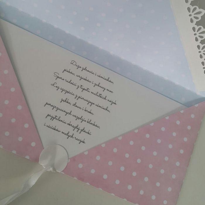 Kartka z okazji narodzin dziewczynki - życzenia