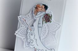 Zaproszenie ślubne - Para Młoda WZÓR