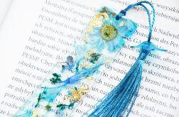 Zakładka do książki - rainbow błękit