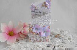 Ślubna kartka kaskadowa w pudełku 08