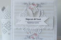 Kartka Ślubne życzenia w kopercie