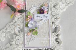 Ślubna kartka DL w pudełku 67