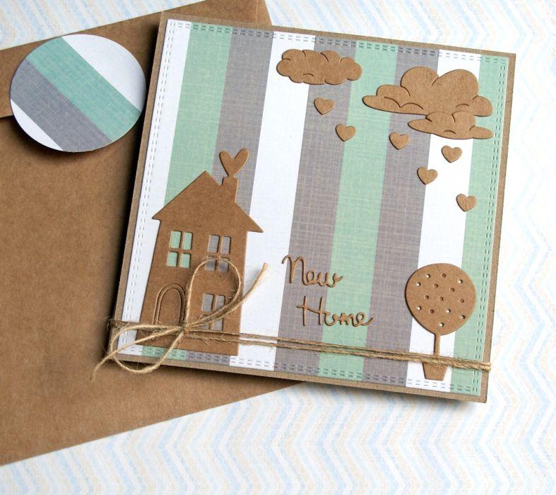 na PARAPETÓWKĘ :: kartka handmade