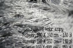 Kocyk futrzak do sesji zdjęciowych 150 x 150 cm