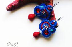 Spirale - kolczyki sutasz z kryształkami