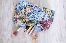 Kosmetyczka w kwiatki vintage