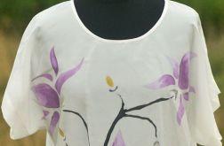 Bluzka jedwabna - magnolia