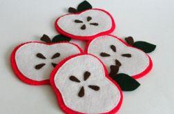 Jabłuszkowe podkładki