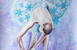 Obraz pt.: Zimowy sen baletnicy