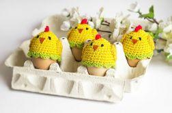 Zestaw 4 ocieplaczy na jajka