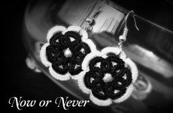 Kolczyki koronkowe - Now or Never