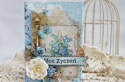 Błękitne Moc życzeń (z pudełkiem)