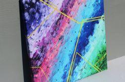 Obraz LAMANTYCZNY, wydruk na płótnie 40x40cm