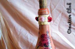 Różana butelka