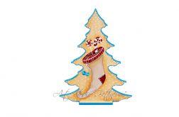 """Choinka """"Świąteczna skarpeta I"""""""