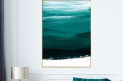 Plakat abstrakcja green 50X70 B2