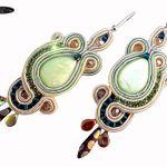 Kolczyki Montana z masą perłową