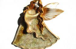 Anioł ceramiczny Alicja 31 chrzest ślub