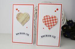 Walentynkowa kartka z sercem