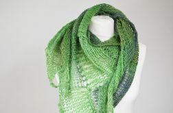 zielona chusta