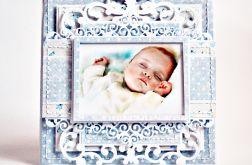 Kartka z okazji Chrztu chłopca