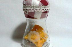 Igielnik grawerowany w kwiaty