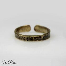 Mosiężny pierścionek rozm. L 190901-01