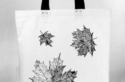 Liście klonu - torba bawełniana z nadrukiem