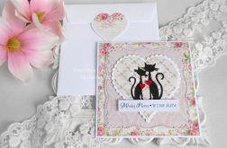 Ślubna kartka w kopercie 18