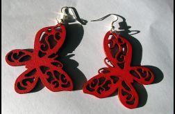 Czerwone motyle