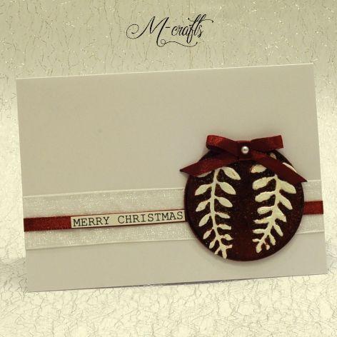 Czerwona...Kartka Bożonarodzeniowa
