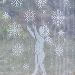 Anioł  tańczący w śniegu - null