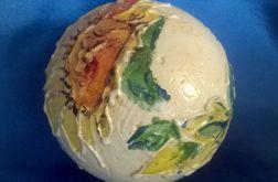 Bombka Malowana Słoneczniki 12 cm