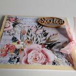 Kartka na Urodziny jednorożec ręcznie robiona