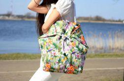 hawajska torba na plażę, na zakupy