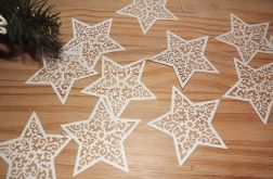 Girlanda - ażurowe gwiazdy