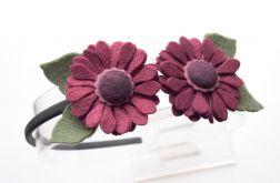 Opaska do włosów kwiatki mulberry
