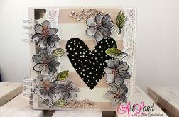 Album z akwarelowymi kwiatami ArtLand