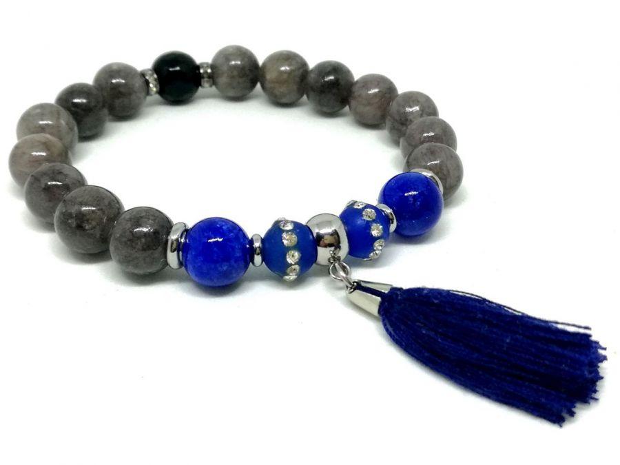 CLASIC BLUE - kamienie naturalne i stal -