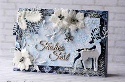 Niepowtarzalna kartka na Boże Narodzenie Frohes Fest