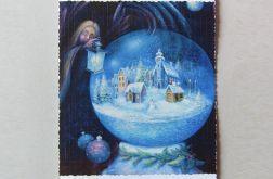 Kartka świąteczna baśniowa