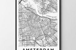 Plakat obraz Amsterdam 30X40