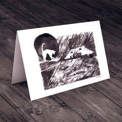 Koci Domek... karteczka