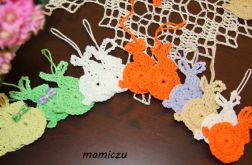 Szydełkowe zajaczki